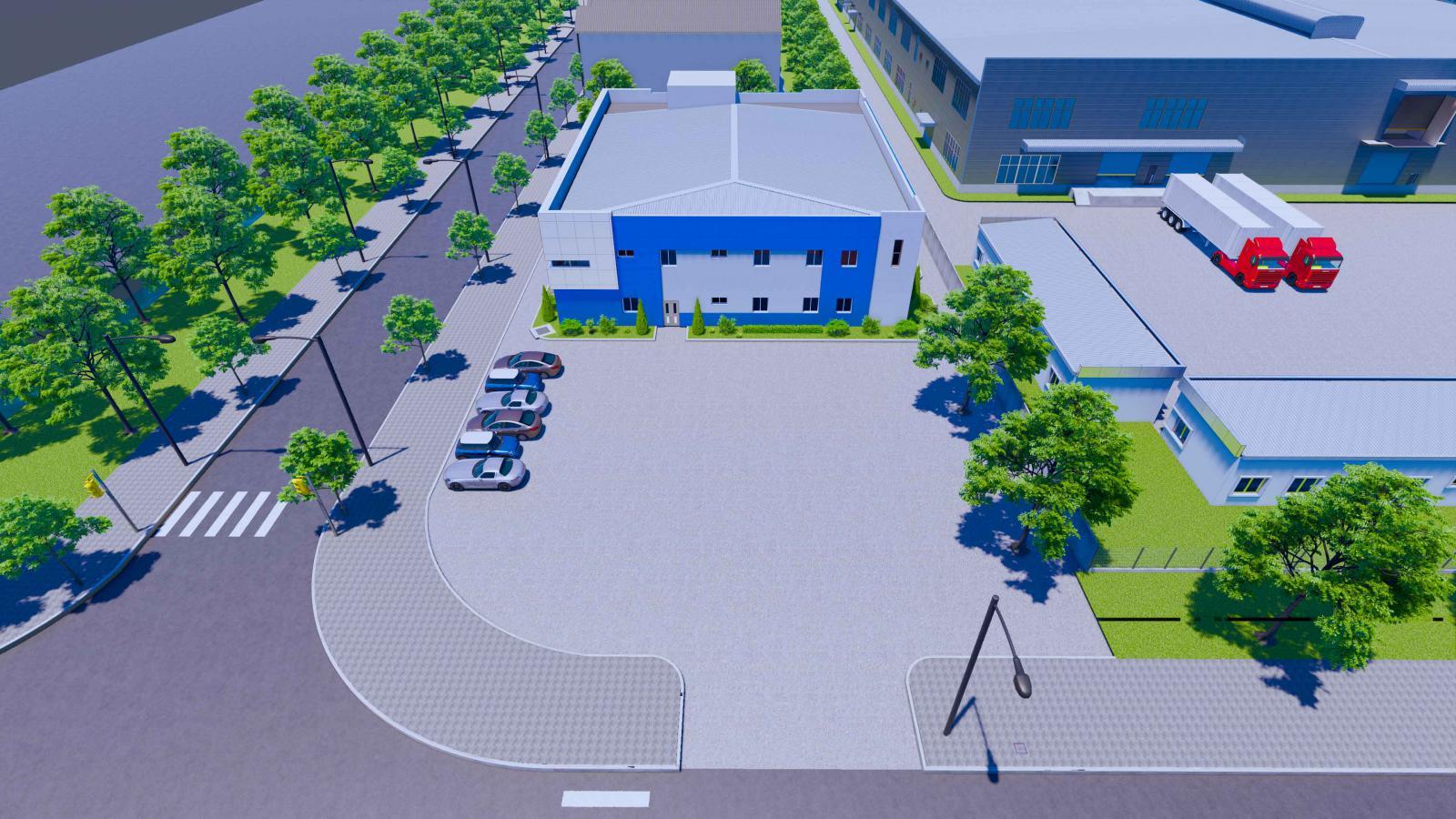 Quy hoạch tổng thể CCN Tân Phong